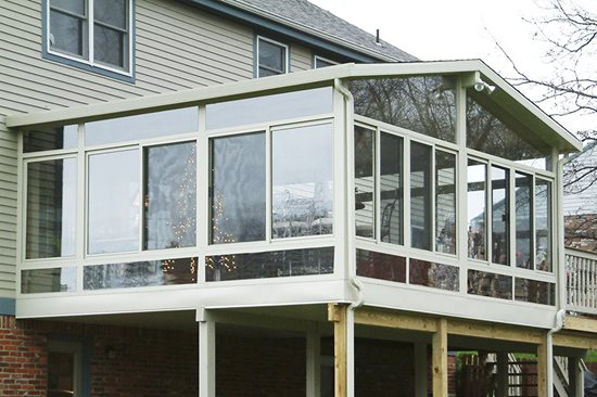 Raised Sunroom